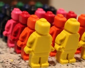 Lego Minifigure Crayons - Set of 8