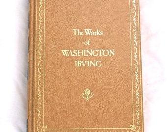 The Works of Washington Irving Vintage Book