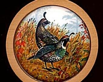 California Partridge 1985 Hallmark Ornament.