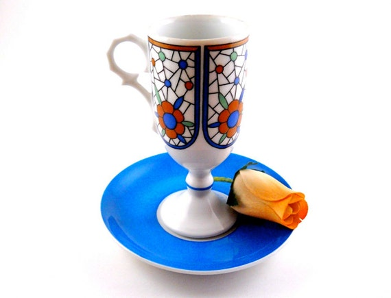 Demitasse Cup with Saucer by Da Vinci