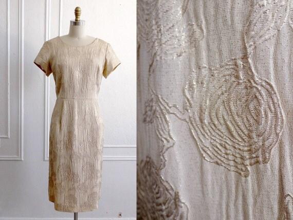 60s Dress / 1960s Dress / Vintage 1960s Dress / Wedding Dress / Vintage Fashion