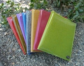 Vinyl Sparkle Reusable Notebook Covers by Stitches for Bitches