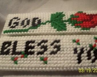 Mini Tissue Covers God Bless You