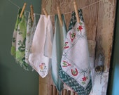 Luck O The Irish Pretty Little Vintage Hankies