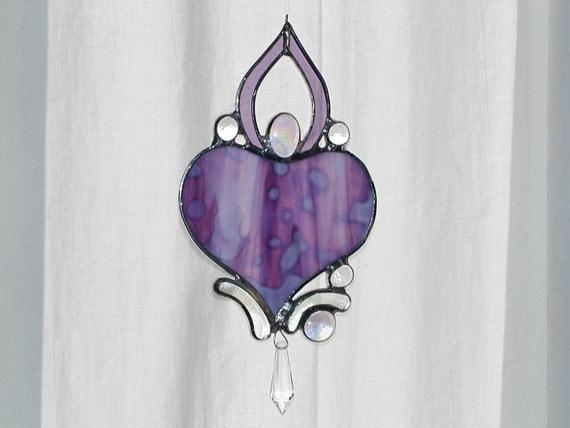 Dancer, purple mottle