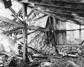 Old Hunting Cabin Cross, ...