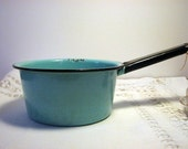 Enamelware Saucepan Treasury Item