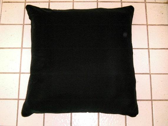 SALE - Black Velvet Floor Cushion