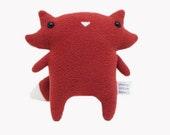 Red Fox Plush Toy Doll