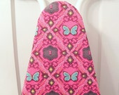 Ironing Board Cover - Butterflies and Keyholes