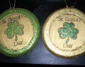 St Patricks Day Ornament
