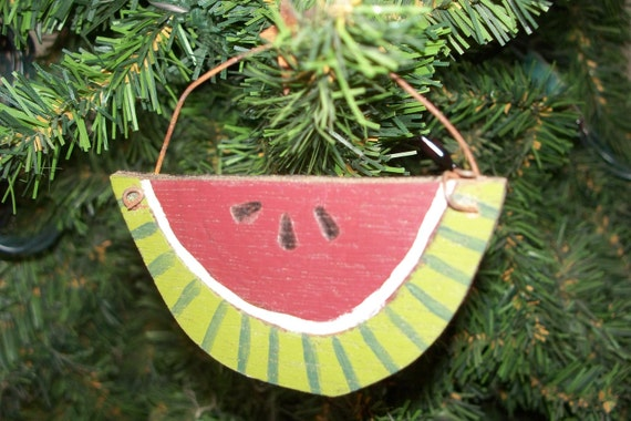 WATERMELON Ornament