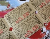 1950s Drive In Movie Tickets - Skylark Theatre - Mississippi