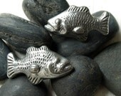 2 Pairs of Fish Cabinet Knobs