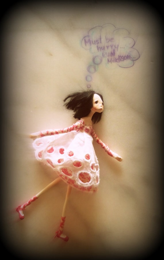 Ooak Art Doll - MADISON - Reserved For Tracey