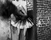 The Dancer Fine Art Photo 8x10 on Canvas Board