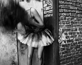 The Dancer Behind The Theater Fine Art Photo On Heavy Canvas (16x24) - jonvangilder