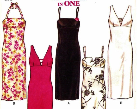 Fitted Column Dress Pattern New Look 6146 (Womens sizes 6-8-10-12-14-16)