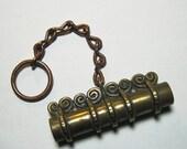 Bronze Viking needle case