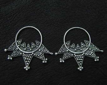 Silver temple rings from Kievan Rus