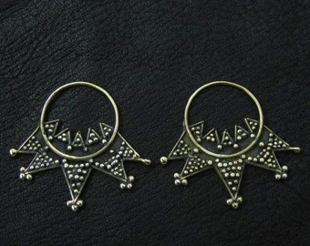 Bronze temple rings from Kievan Rus