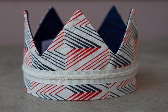 Fabric Crown - Retro Prince