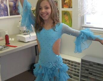 kids latin  dance dresses  girls dance dresses   dance dresses for teens