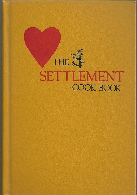 The Settlement Cookbook, by Mrs. Simon Kander, 28th Edition, 1947 Hardcover