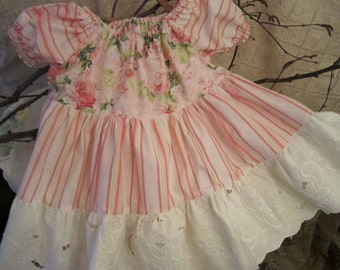 SALE! Pink Rose Twirly Top Outfit