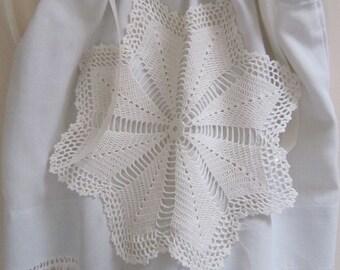 SALE!! Baby Dress, Heirloom Pillowcase