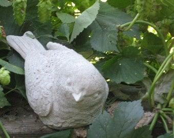 Concrete Robin Statue