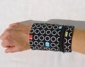 Pacman wrist wallet by NIXO Handmade, women's