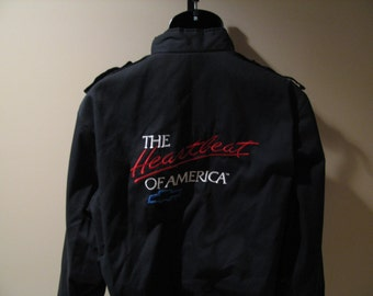 Vintage Like New Chevy Members Only Style Jacket