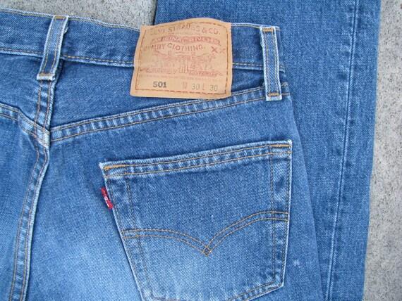 Vintage Levi's Red Tag 501 - Waist 30, Inseam 30