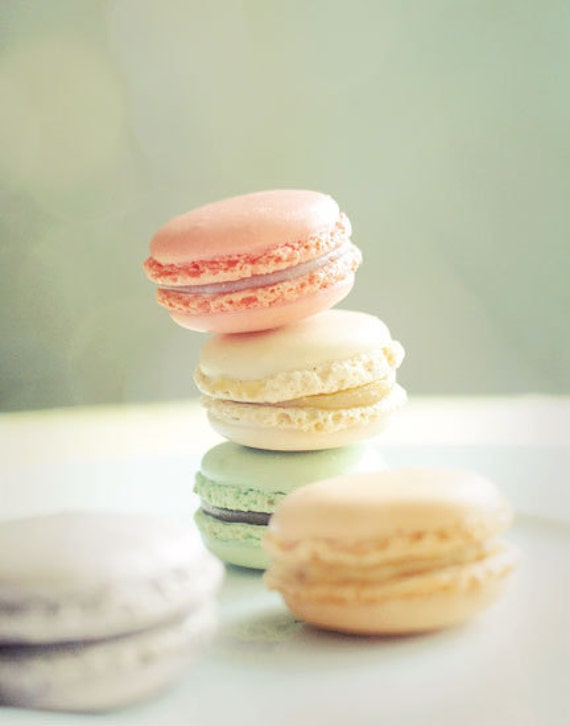 Pastel Macarons: Items Similar To French Macarons. Fine Art Photography