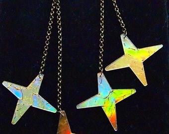 Starry Night CD Earrings