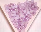 BLOWOUT SALE Purple flatback pearls 6mm - 250 pcs
