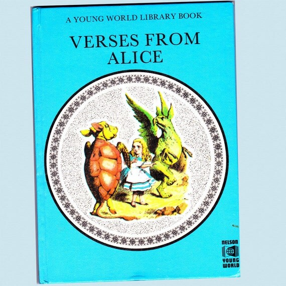 Verses from Alice by Lewis Carrol 1974