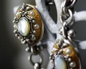 Michal Golan Mother of Pearl Fivr Pendants Bracelet