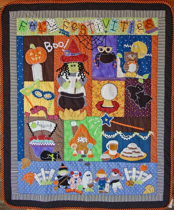 Nothing SCARY about this Fall Festivities quilt pattern
