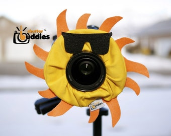 Shutter Buddies SUN with SQUEAKER camera lens prop-Ready to ship