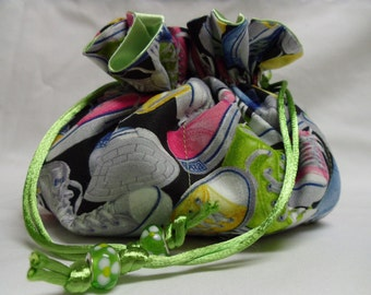Sneakers Jewelry Pouch