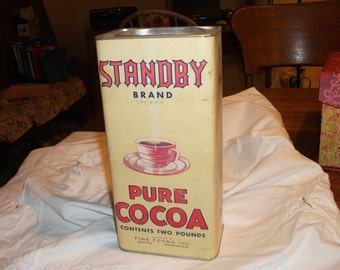 Vintage Standby Pure Cocoa container