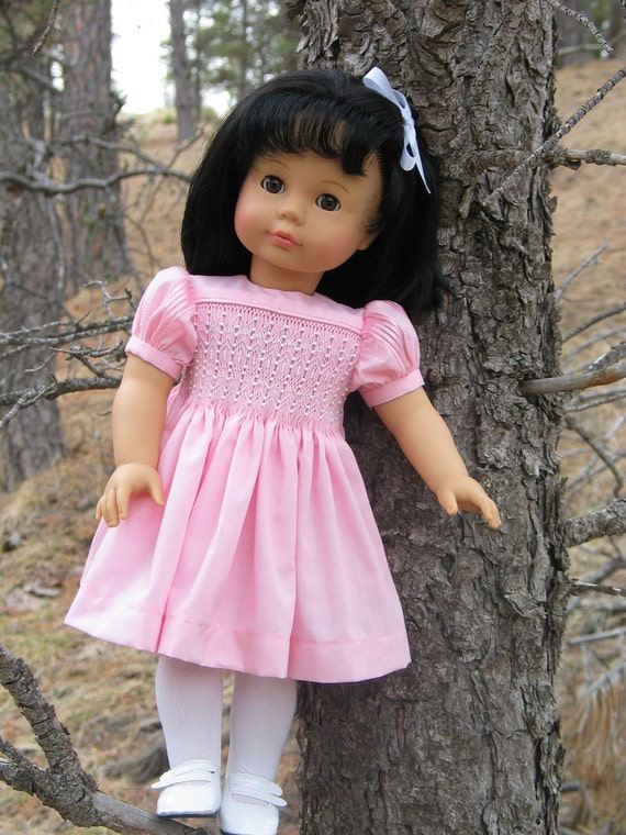 Sale - Four Smocked Doll Dress Patterns for the price of Three (Helen, Kaela, Andrea, Stella Dresses) by Sally Robertson