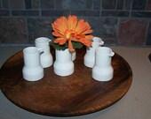 Ceramic creamers set of 6