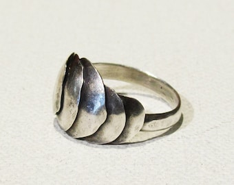 Sterling Silver Armadillo Armor Shell Ring LIMITED EDITION