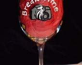 Photographers Dream Wine Glass Oh Snap