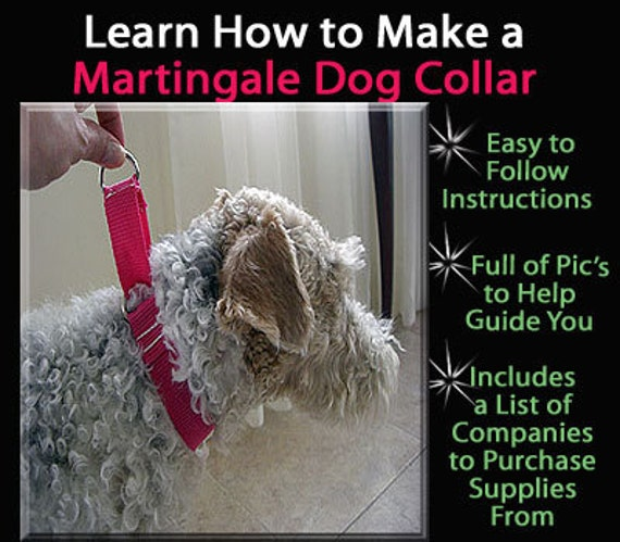 How to Make a Martingale Dog Collar - DIY Tutorial by The Preppy Owl on Etsy