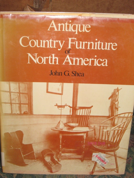 antique country furniture book g shea by