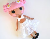 Vintage Lace Petticoat for LalaLoopsy Doll